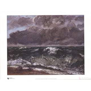 Gustave Courbet, The Wave Poster
