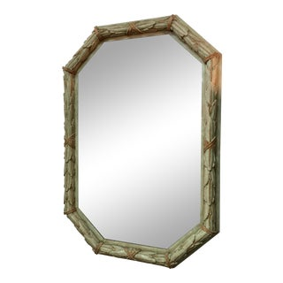 French Chateau Painted Mirror