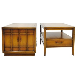 Drexel Mid-Century Side Tables - A Pair