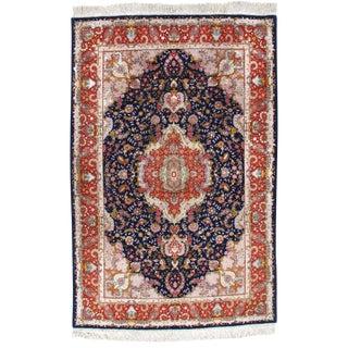 "Pasargad N Y Persian Tabriz Silk & Wool Rug - 5'3"" X 8'0"""