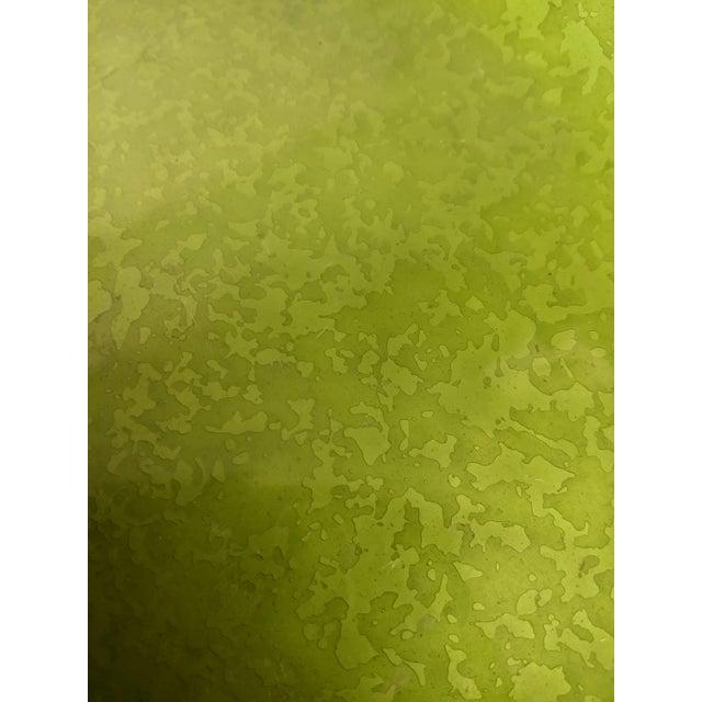 Image of Enameled Evans Green Ashtray