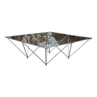 Paolo Piva Pyramidal Coffee Table