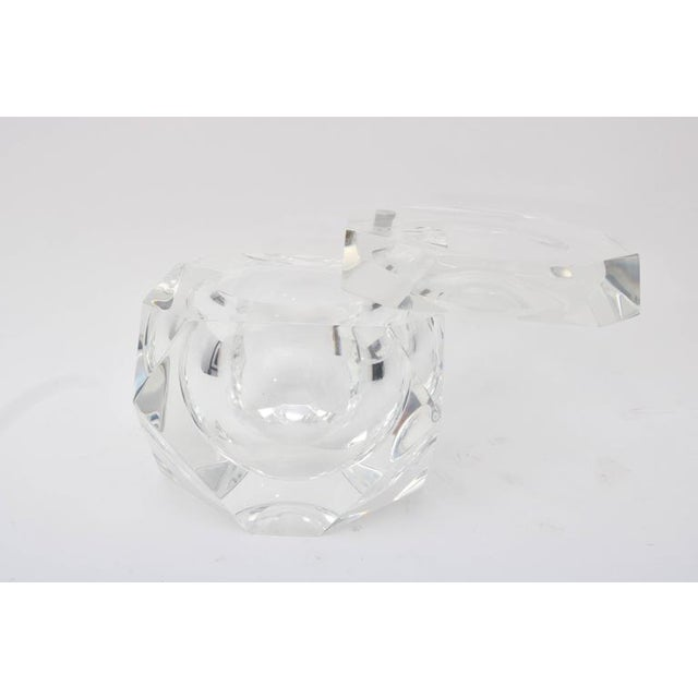 Alessandro Albrizzi Clear Lucite Ice Bucket - Image 3 of 7