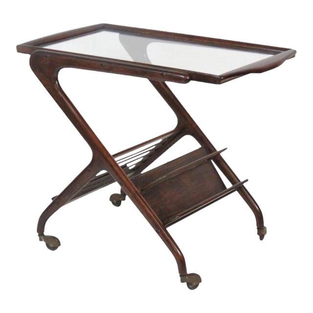 Ico Parisi Style Bar Cart - Image 1 of 4