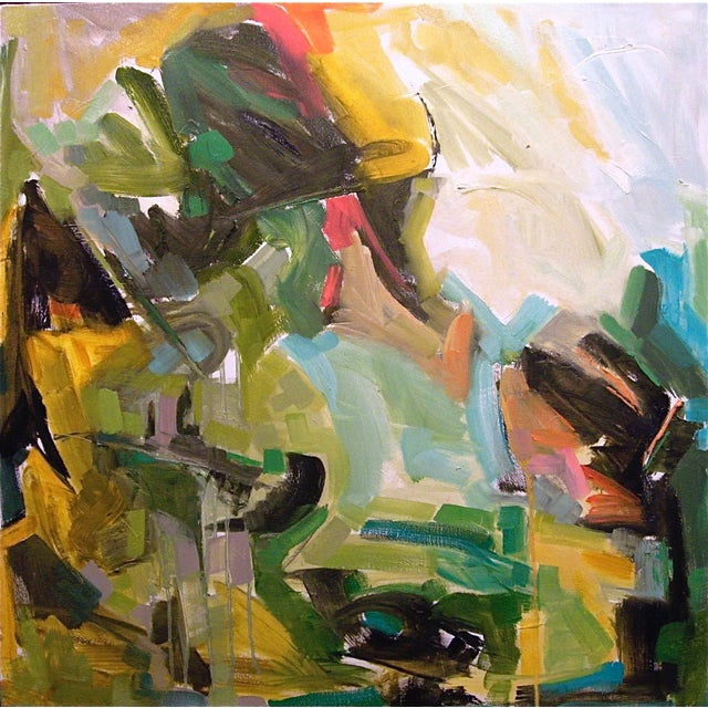 """'Toward Telluride' by Trixie Pitts 30""""x30"""" - Image 1 of 2"""