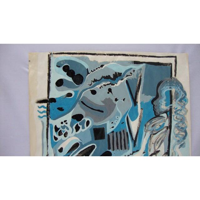 'Blue Lady' Ltd Ed Print of Painting by Alaina - Image 2 of 4