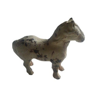 Antique Miniature Iron Horse Figurine