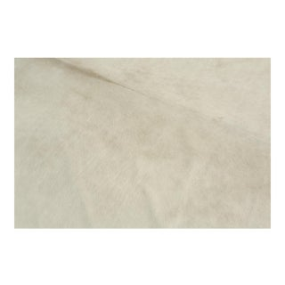 Genuine Brazilian Cowhide, White