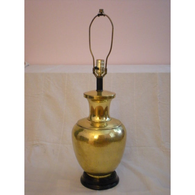 Image of Brass Canister Lamp