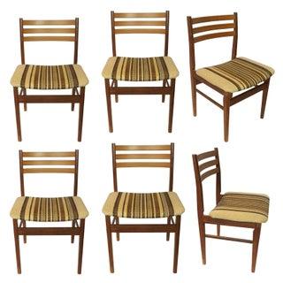 """Arne"" Danish Teak Dining Chairs – Set of 6"