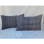 Image of Hill Tribe Silk Embroidered Pillow - A Pair