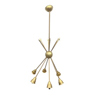 Vintage Criss Crossing Arrow Chandelier