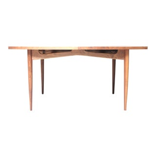 Martinsville Walnut Mid-Century Dining Table