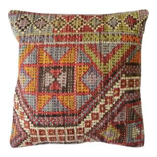 Pasargad Vintage Turkish Kilim Pillow