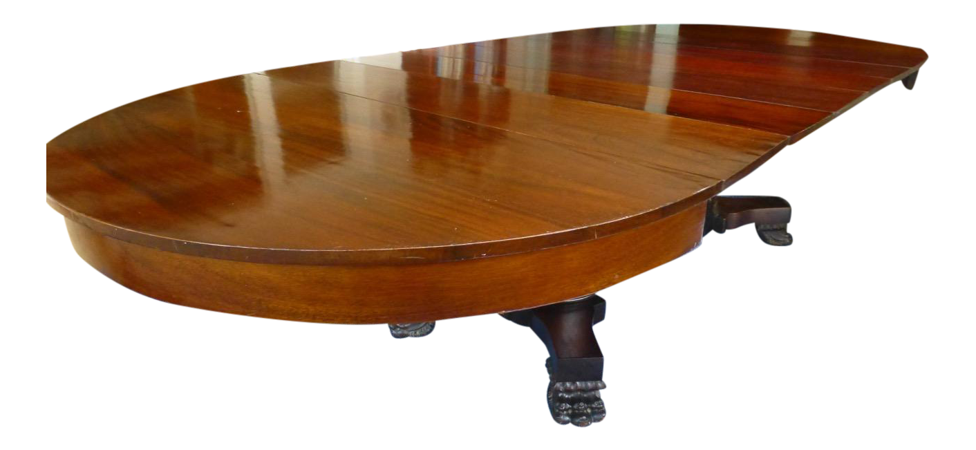 Stunning 10 Foot Claw Foot Mahogany Dining Table Chairish : cf3852b3 1c2c 456f aa2a 93ca720e87aeaspectfitampwidth640ampheight640 from www.chairish.com size 640 x 640 jpeg 23kB