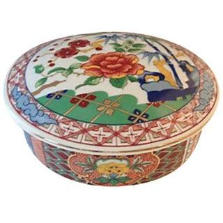 Porcelain Lidded Imari Box