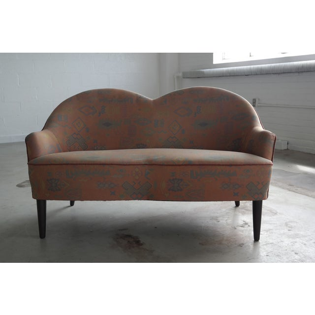 Mid Century Loveseat Attributed to IB Kofod Larsen - Image 4 of 10