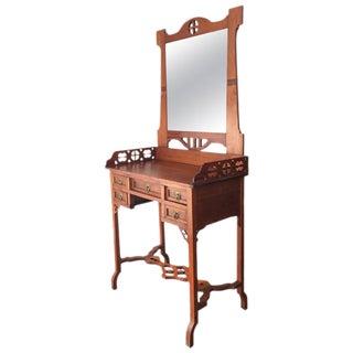 20th Century Art Nouveau Dressing Chest & Vanity Table
