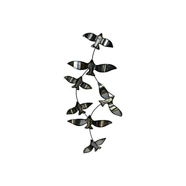 Image of C Jere Style Flying Bird Wall Sculpture