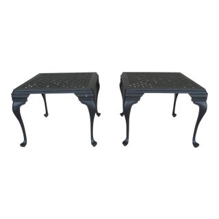 SUMMER CLASSICS Provence Collection Pair End Tables