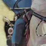 Image of Lone Ranger Large Die Cut 1957 Framed Store Standee