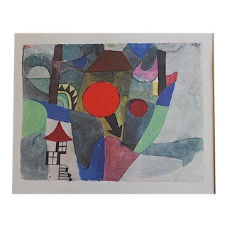 Vintage Paul Klee Mid-Century Abstract Lithograph