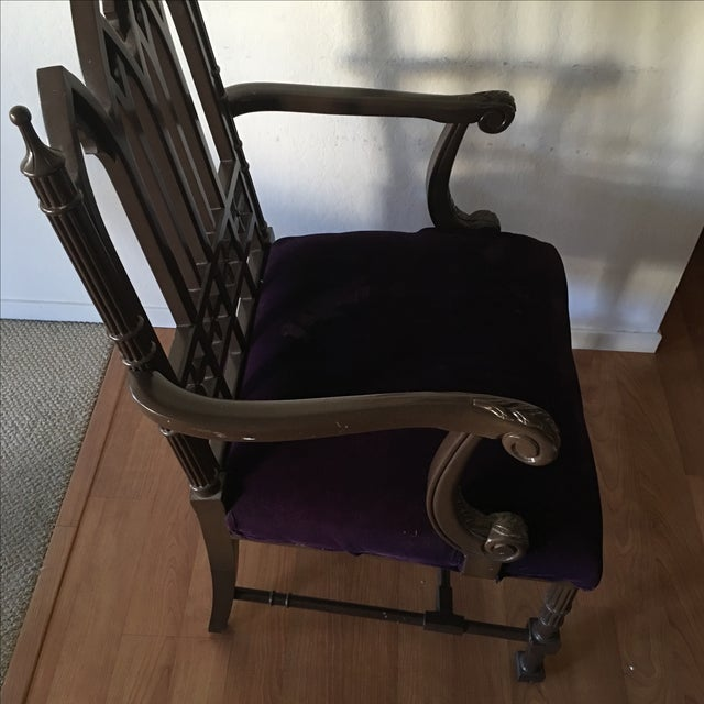 Gothic Arm Chair - Image 4 of 8