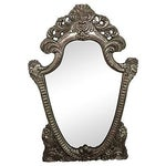 Image of Hand Carved Ornate Mirror