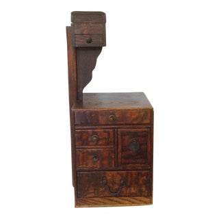 Antique Japanese Sewing Box
