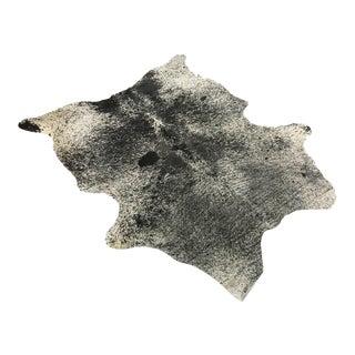 Black & White Speckled Cowhide Rug