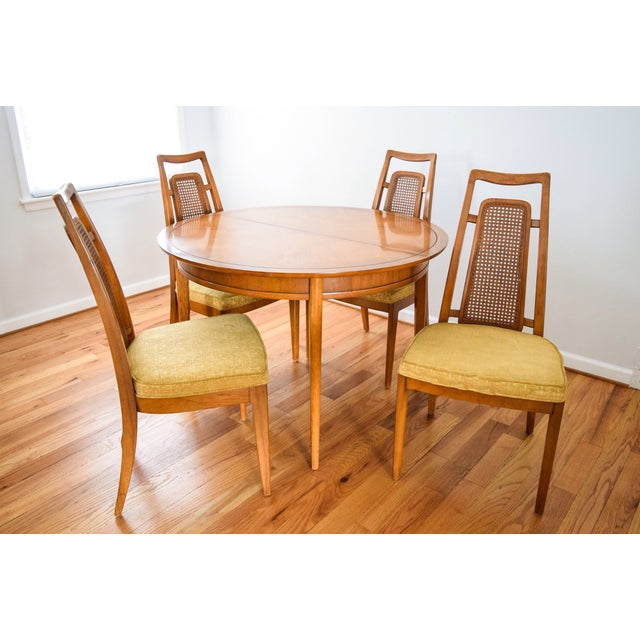 Midcentury Drexel Meridian Dining Set Chairish