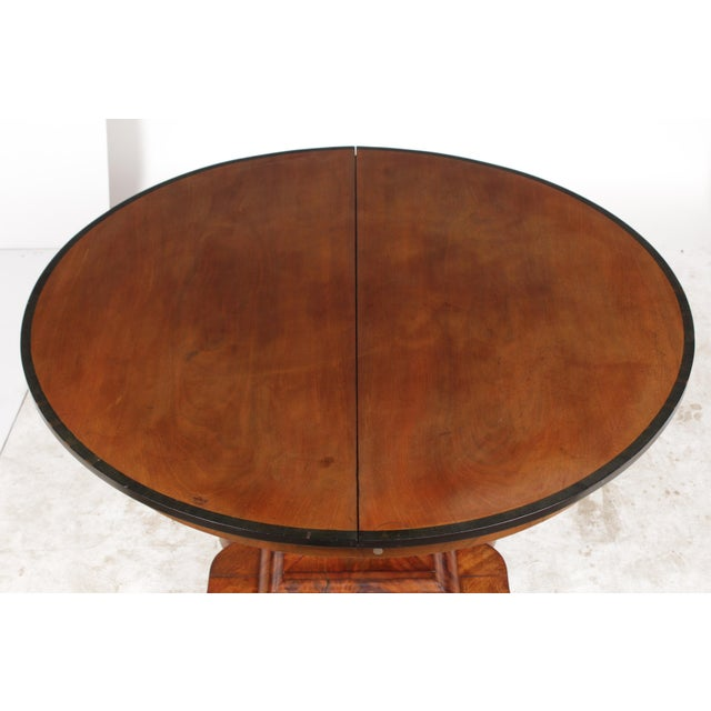 19th-C. English Empire-Sty Center Table - Image 5 of 10
