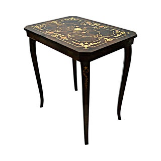 Marquetry Auxiliary Table