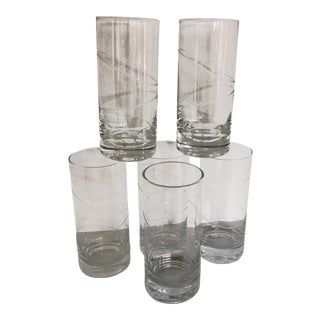 Mikasa Hi-Ball or Water Glasses - Set of 6