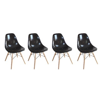 Eames DSW Shell Side Chairs - Set of 4