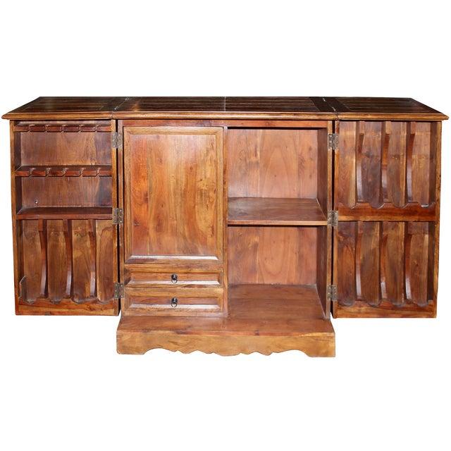 Mango Wood Bar Cabinet - Image 4 of 10