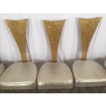 Image of Vintage Glam & Unique Lucite Dining Chairs - Set of 6