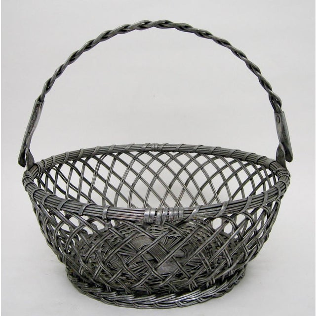 Vintage Tin Basket - Image 7 of 8