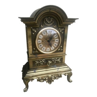 Large French Baroque Clock