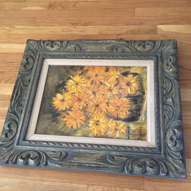 Vintage Framed Still Life Oil Painting - Image 3 of 9