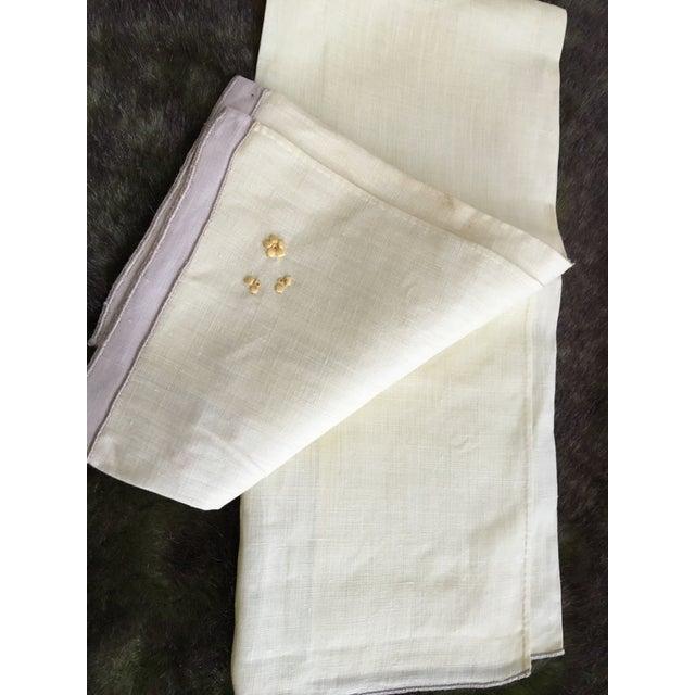 Vintage Embroidered Tree Tea Towel - Image 6 of 10