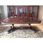 Image of E.J. Victor Regency Dining Table W/ 3 Leaves