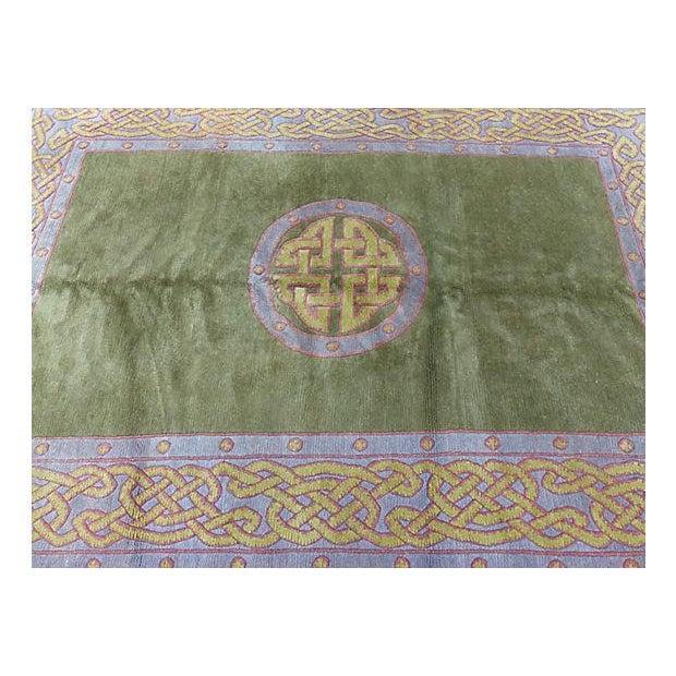 Nepalese Wool Rug- 6' x 9' - Image 5 of 11