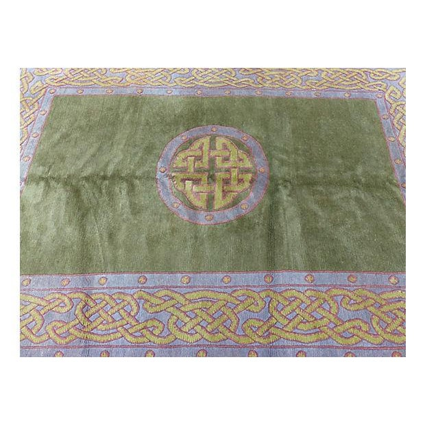 Image of Nepalese Wool Rug- 6' x 9'