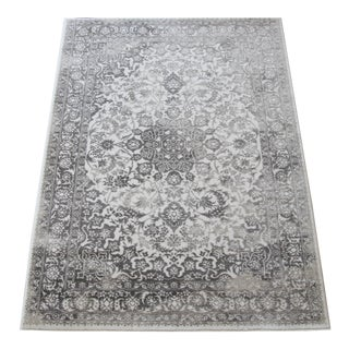 Gray Faded Medallion Rug - 5' X 8'