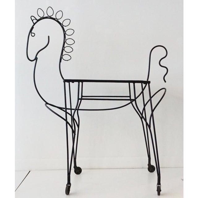 Frederick Weinberg Pony Bar Cart - Image 2 of 5