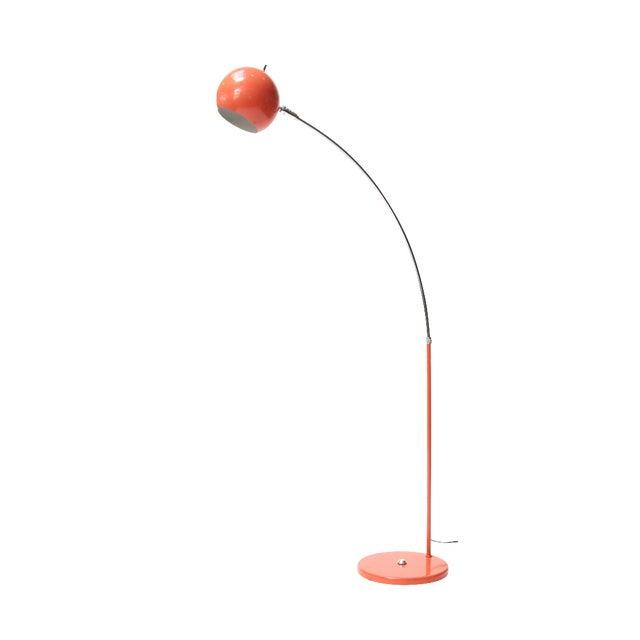 Vintage Orange Arc Lamp - Image 1 of 11