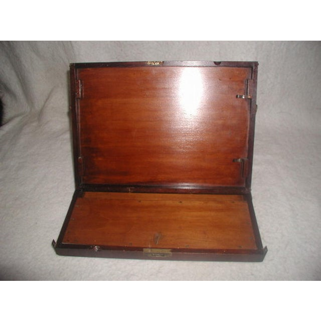 Image of English 19th Century Art Box with Easel