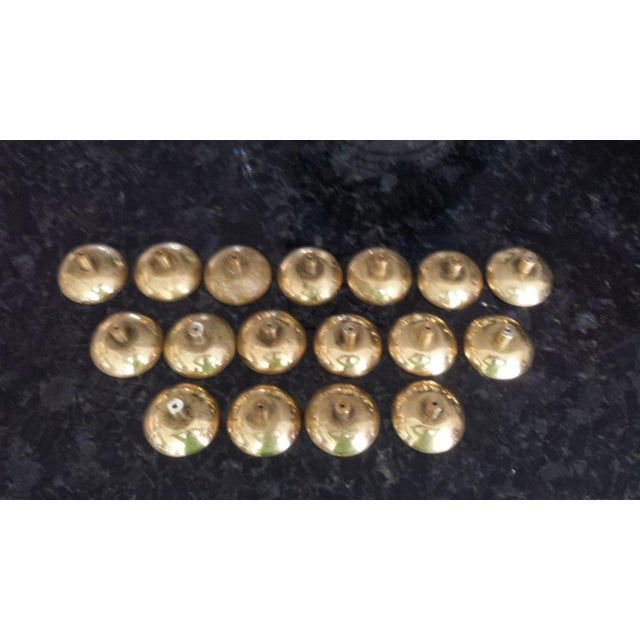 Image of French Brass Door Knob Collection - Set of 17