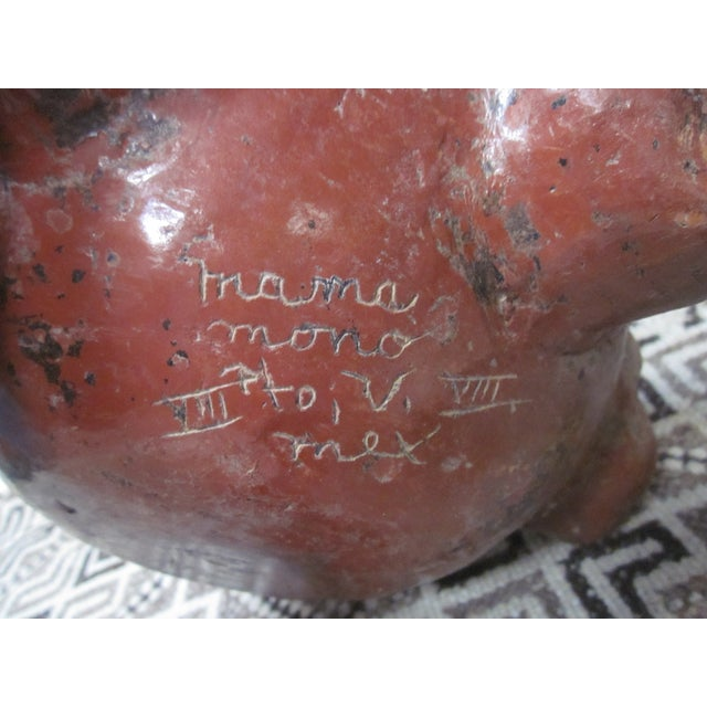 Image of Signed Pottery Surreal Perpetual Face Vase